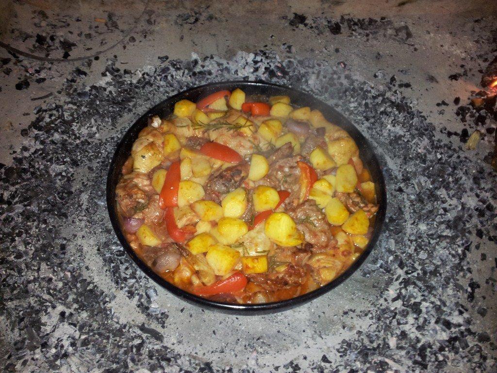 Peka je tradiční chorvatské jídlo