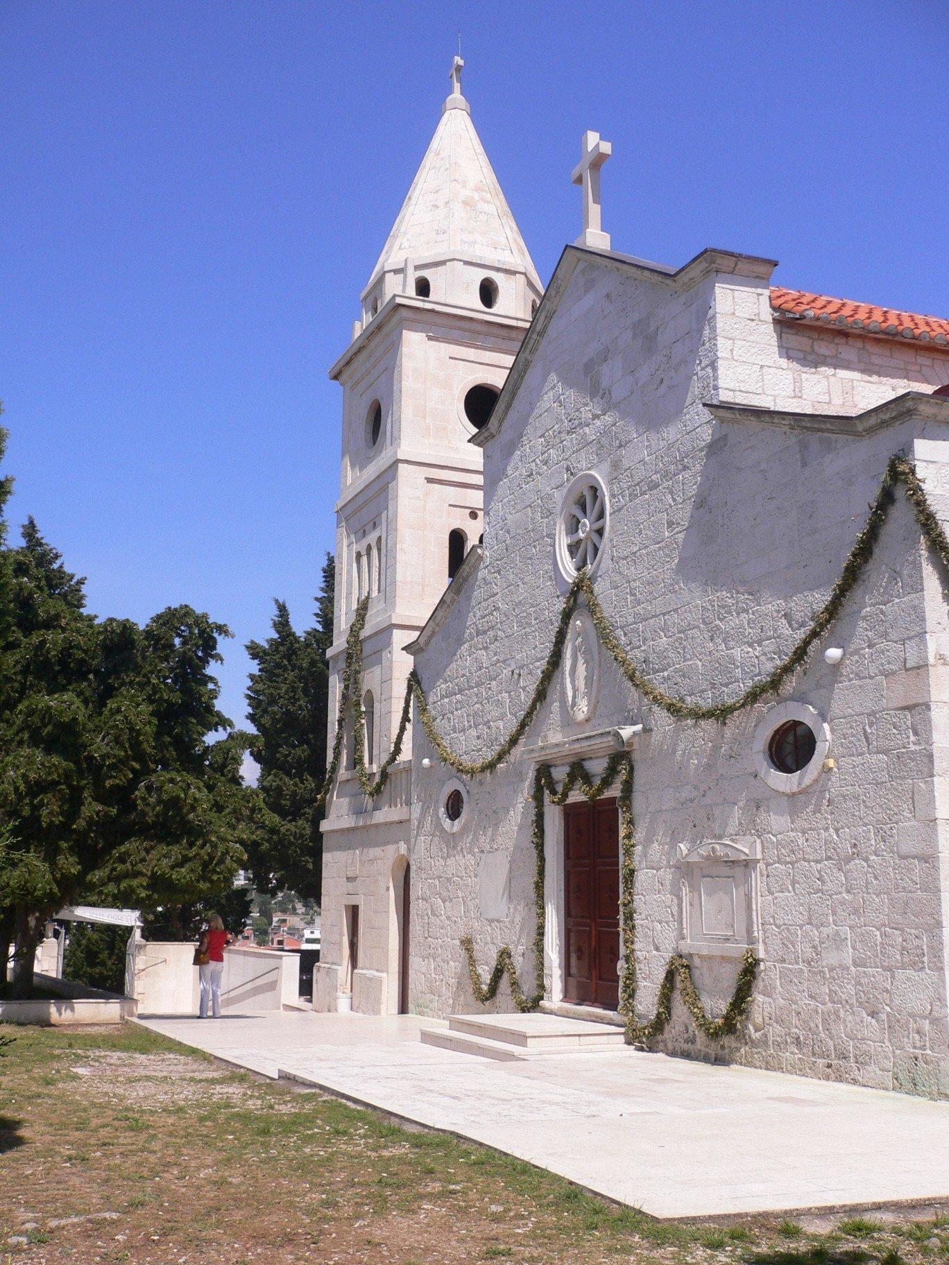 Primošten - kostel sv. Jiří