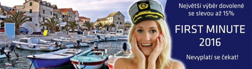 """Zájezdy do Chorvatska už nyní za """"lastkové"""" ceny!"""