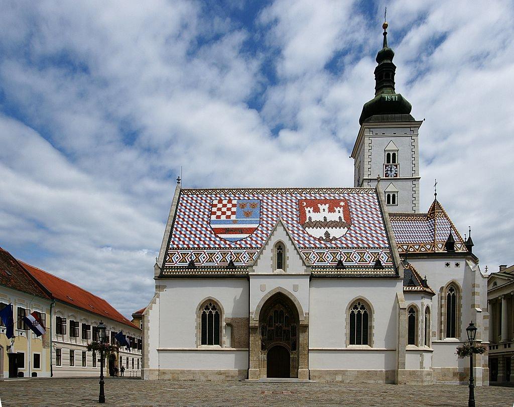 Kostel svatého Marka Zagreb